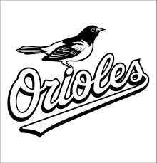 Baltimore Orioles Decal North 49 Decals