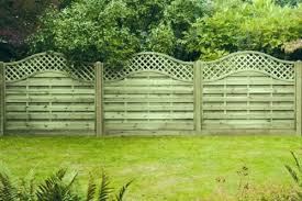 Wooden Fence Panel Arch Lattice Top Omega Free Delivery 50 Miles Boston Ebay Arch Trellis Trellis Fence Panels Fence Panels