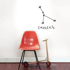 Wallpops 18 In X 15 In Black Cancer Decal Wall Art Kit Dwpk3170 The Home Depot