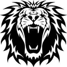 A Roaring Lion Vinyl Cut Sticker Or Decal Great For Car Or Laptop Ebay