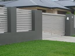 Modern Home Fence Design