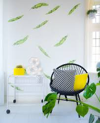 Banana Leaf Wallpaper Stickers Wall Decals For Happy Homes Made Of Sundays