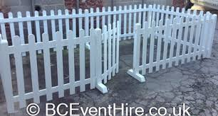 White Picket Fence Hire B C Event Hire