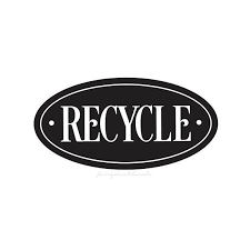 Recycle Decal Trash Bin Label Vinyl Sticker For Aluminum Cans Trash Bin Recycling Label For Garbage Can Recycling Decal Label Vinyl Labels Trash Bins Vinyl