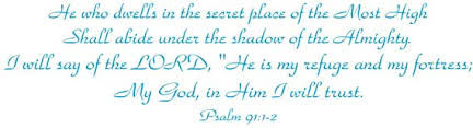 Amazon Com Bible Verses Wall Decals Psalm 91 Wall Decal Made In The Usa From Vinyl This Is One Of Our Most Popular Quotes Wall Decals Ice Blue Home Kitchen