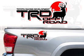 Car Truck Decals Stickers Toyota Tacoma Trd Sport Bedside Decal Black Red 75996 04080 A0 Genuine Oem Nuntiusbrokers Com