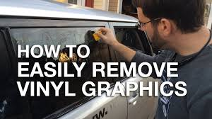How To Easily Remove Vinyl Graphics And Stickers From Your Car Or Truck Youtube