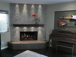 diy fireplace remodel modern how to