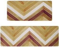 com kitchen rug and mat set 2