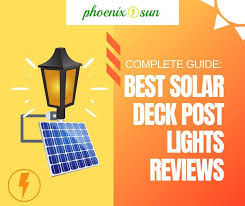 Top 12 Best Solar Deck Post Lights Reviews