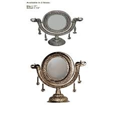 stand mirror carving oval eazelyf
