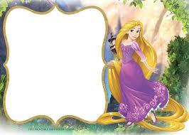 43 Invitaciones Rapunzel