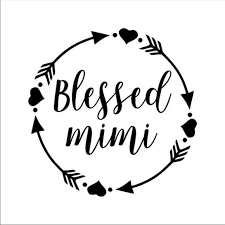 Other Handmade Blessed Mimi Decal Poshmark