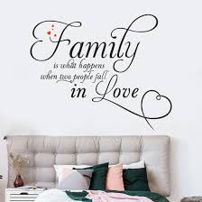 Shop Follure Family Home Decor Wall Sticker Decal Bedroom Vinyl Art Mural Online From Best Wall Stickers Murals On Jd Com Global Site Joybuy Com