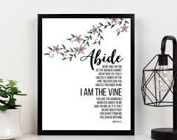 I Am The Vine Etsy