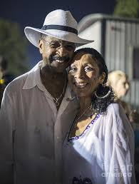 Larry Graham and Tina Graham Photograph by David Oppenheimer