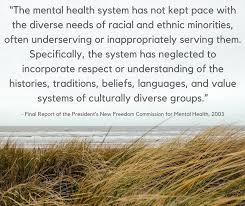 is minority mental health month each mind matters