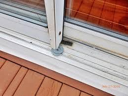 the old sliding glass door fix stop gap