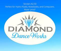Stickers Diamond Dance Works