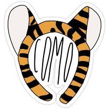 Mizzou Tigers Sticker By Molski In 2020 Mizzou Tigers Mizzou Stickers