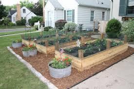 front yard garden garden bed layout