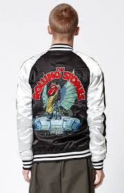 rolling stones jacket from pacsun