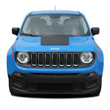 2014 2020 Jeep Renegade Hood Decal Trailhawk Style Vinyl Decal Graphic Stripes