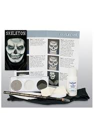skeleton face makeup kit professional