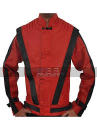 michael jackson thriller red costume