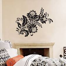Love This Design By Dali Decals Looks Great In Dark Blue Plan On Using Two One Is Reverse Image To Create A Headboard Instead Of Vinyl Wall Decals Wall Decals