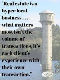 real estate individual experience matters quote dana green