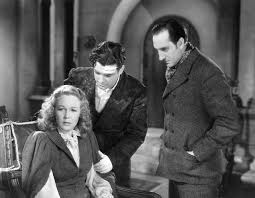 We Had Faces Then — Wendy Barrie, Richard Greene and Basil Rathbone as...