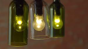 wine bottle lights diy projects