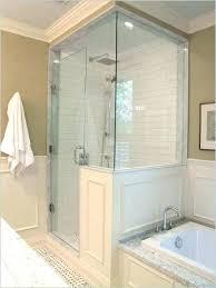 frosted glass shower doors door