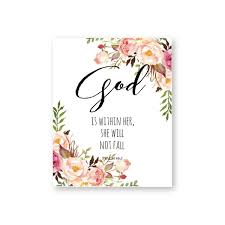 quotes wall art canvas painting watercolor flowers christian