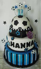 Soccer Girl Birthday Cake Custom Cakes By Kris Cakepins Com