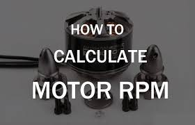 brushless motor kv to rpm calculator