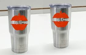 Personalized Teacher Tumbler Decals Vinyl Stickers For Mugs