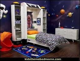 Spaceship Kids Wall Bed Jpg 504 388 Pixels Space Themed Bedroom Outer Space Bedroom Bedroom Themes