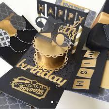 Cumpleanos Birthday Explosion Box Birthday Cards Diy Birthday Box