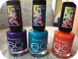 rimmel 60 seconds nail polish rita