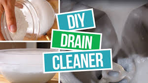 how to make diy drain cleaner a