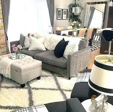 what color rug with gray couch