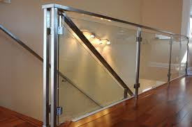 glass staircase industrial s s glass