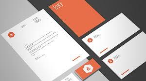 letterhead design in indesign adobe