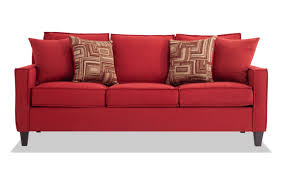 jessie 80 red sofa bobs com