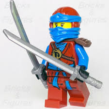 New Ninjago LEGO Nya Water Ninja Day of the Departed Minifigure 70596 –  Bricks & Figures