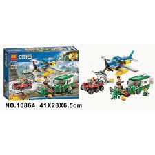 Lego Cities Lắp ráp Cảnh sát bắt cướp rừng xanh 10864 - 409 chi ...