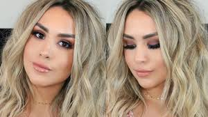 grwm boho glam hair makeup you