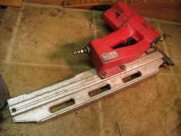 hilti rn312 air framing nailer nail gun